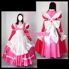 Sissy maid PVC long dress lockable cross-dressers cosplay Tailor-made
