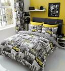 New York Patchy Duvet Cover Sets Quilt Cover Sets Reversible Bedding Sets