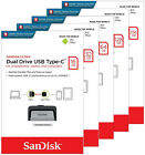 SanDisk Ultra Dual TYPE C 16GB 32GB 64GB 128GB 256GB USB 3.1 Flash Drive Lot