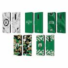 OFFICIAL NBA 2018/19 BOSTON CELTICS LEATHER BOOK CASE FOR BLACKBERRY ONEPLUS