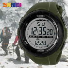 SKMEI Mens Outdoor Sports Watches Repeater Back Light Digital Wristwatch 1025 image