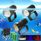 Внешний вид - Underwater White Red Blue 18/27LED Photography Diving Flashlight Waterproof Lamp