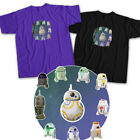 Star Wars BB-8 R2D2 Robot Droid Jedi Force Resistance Rebel Unisex Tee T-Shirt $16.2 USD on eBay