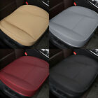2Pcs Car Front Seat Cover Breathable PU Leather Cushion Mat Protector Universal on eBay