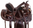 Barrel Saddle 16 15 17 18 Pleasure Trail Racing Racer Western Leather Horse Tack