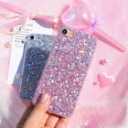 For iPhone XS Max XR X 8 Plus Full Bling Glitter Protective Phone Case Cover US