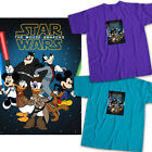 Disney Star Wars Mickey Mouse Rey Finn Donald Duck Crossover Unisex Tee T-Shirt $16.2 USD on eBay