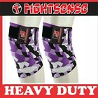 FS Knee Wraps Pair Gym Weight lifting Bandage Strap Powerlifting Pads Camo Purpl