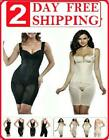 Supplim Womens Body Shaper Waist Cincher Underbust Corset Bodysuit Shapewear NEW