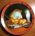 """Garfield """"Dear Diary"""" Numbered Collectors Plate Jim Davis 1978, 1990 Vintage"""