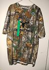 NWT RealTree Mens Camo T-Shirt Buckhorn River Wilderness Outfitters L, XL