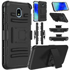For Samsung Galaxy J3 Orbit/J3 V 2018/Achieve/Star Holster Case+Screen Protector