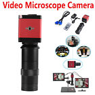 14MP HDMI VGA HD Industry 60F/S Video Microscope Camera 8-130X C-mount Lens (US)