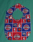 NEW BABY CHILD BIB DETROIT PISTONS BASKETBALL NBA  /SHIPPING DISCOUNTS!