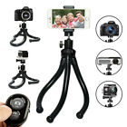 "New Tripods for Cell Phone DSLR Camara Gopro 12"" Flexible With Bluetooth Key"