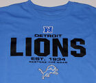 Detroit Lions T-Shirt Short Sleeve size Large Brand New w/Tag $17.99 USD on eBay