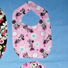 NEW cute BABY CHILD BIB DISNEY MINNIE MOUSE SHIP DISCOUNTS