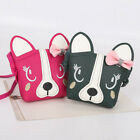 Kids Sweet Animal Bowknot Crossbody Dog Shoulder Bag Messenger Purse Wallets New