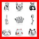 AUTHENTIC PANDORA Charm Bead 100% 925 Sterling Silver Animals Dog Lovely Cat Pet