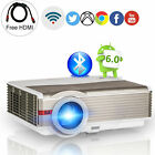1280*800 Android Projector Bluetooth Wifi Home Theatre 1080P Kodi for Youtube TV