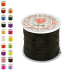 50M Strong Stretch Elastic Cord Wire rope Bracelet Necklace String Bead 0.5mm G