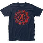 Avengers End Game Movie Icons Marvel Officially Licensed Adult T-Shirt