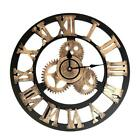 Vintage Clock Steampunk Gear Wall Home Decoration Modern