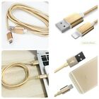 6Ft Lightning Cable Nylon Braided Charging Cable Extra Cord iPhone iPod iPad New