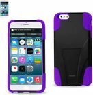Reiko - Silicone Case w/ Protector Cover for Apple iPhone 6 Plus / iPhone 6S Plu
