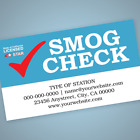 Smog Check Business Cards   STAR, Test Only, Test and Repair, Repair Only