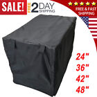 """Dog Crate Pet Cage Kennel COVER Black Quiet Time Breathable 48""""/42""""/36""""/24""""/ NEW"""