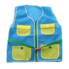 Children Learn To Dress Vest Zip Snap Button Buckle Quiet Educational Toys FA US
