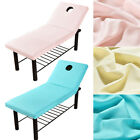 Durable Beauty Massage Spa Bed Table Elastic Covers Sheets & Face Breath Hole US image