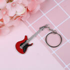 Creative metal electric guitar mini keychain key chain key ring gifts Pip VG