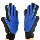 Pet Grooming Glove Deshedding Brush Fur Remover Mitt for Dog Cat Puppy 1 Pair