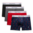 Nautica Mens Stretch Performance Boxer Briefs, 4-Pack <br/> Official Nautica eBay Store