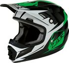 Z1R Rise Ascend Youth MX Offroad Helmet Green