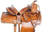 Western Saddle 15 16 17 18 Pleasure Trail Comfy Roping Rodeo Cowboy Saddle Tack