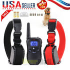 Dog Shock Collar With Remote Waterproof 4 Modes for Large 875 Yard Pet Training