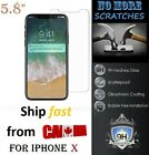 "9H REAL Tempered Glass Apple iphone X & XS 10 5.8"" Screen Protector HD clear"
