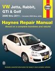Haynes 96019 VW Jetta, Rabbit, GTI and Golf - 2006 Thru 2011 - 2005 New Jetta