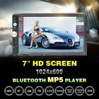 Car MP5 Player Double 2 Din 7 Inch Car Stereo MP5 MP3 Player Radio Bluetooth USB