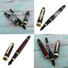 2xLuxury Fountain Fine Nib Pen Deluxe Writing Pen for Business Birthday Gift