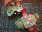 FISHER-PRICE  Loving FAMILY  kirchen table chairs sink more