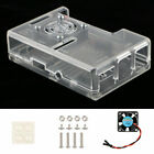 ABS Case Enclosure Box Shell Cover w/ RPI CPU Cooling Fan for Raspberry Pi 2 / 3