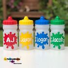 ANY NAME KIDS WATER / DRINK BOTTLE - NO LEAKS - DEMAND LID / CLEAR 300ML SIZE