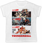 JAMES BOND THUNDERBALL T-SHIRT MOVIE POSTER UNISEX COOL FUNNY 007 KILL AGENT SPY £5.99 GBP on eBay