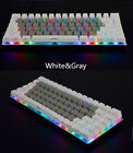 82x ABS Side Carving Keycaps For Mechanical Keyboard Ajazz AK33 Black,Gray,White