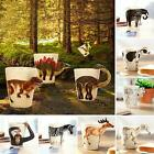 350ML 3D HAND-PAINTED CERAMIC TEA COFFEE SOUP ANIMALS MUG CUP HOME DECOR STRICT