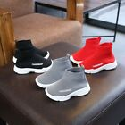 Toddler Kids Baby Boys Girls Mesh Letter Ankle Boots Sport Casual Shoes Sneakers